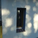Badfenster mit Ornament Master Carre Berlin