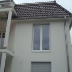 Rollladen und Fenster aus PVC