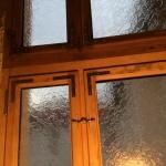Renovierung Holzfenster Berlin Ornamentglas Delta