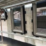 Montage Aluminiumfenster Belin