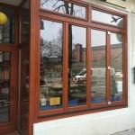 Holzfenster Berlin Farbe Calvados