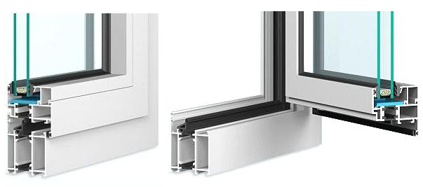Aluminiumfenster MB-60 warmes System Berlin
